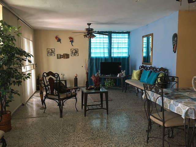 Maria's home at Lajas PR.