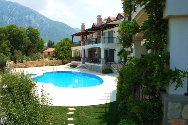 Rent a Luxury Villa in Fethiye, Close to the Beach, Fethiye Villa 1024