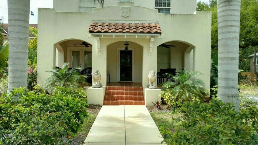 The Parsonage Fort Myers with  heated pool and spa