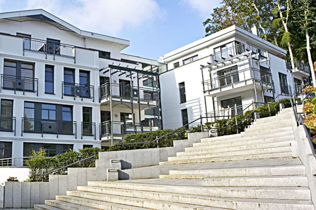 Hausansicht Villa Louisa im Ostseebad Sellin