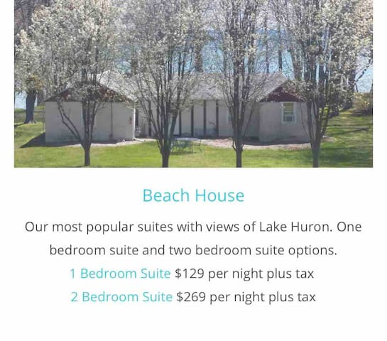 BEACHCOMBER BEACH HOUSE with 3 SEPARATE UNITS