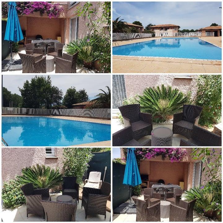 Maison/piscine - Saint-Cyprien Plage