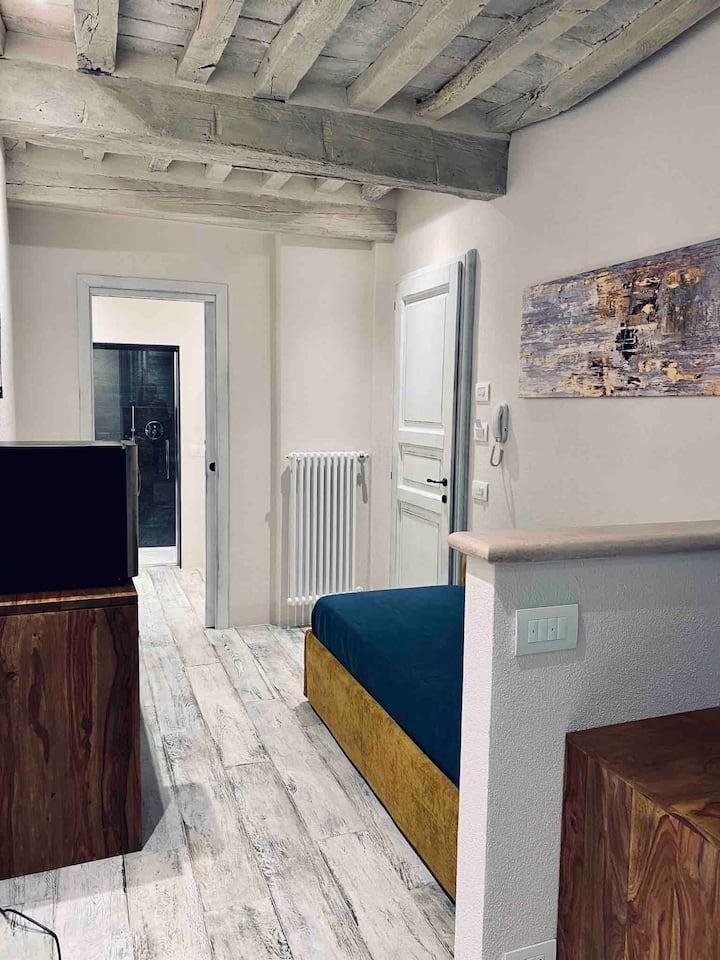 centro storico-  camera bagno wifi condizionatore