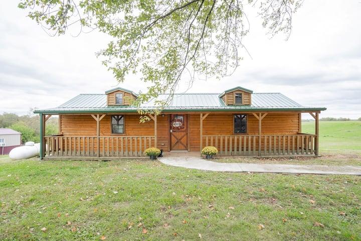 Cozy Cabin near Ark! Adam and Eve's Retreat