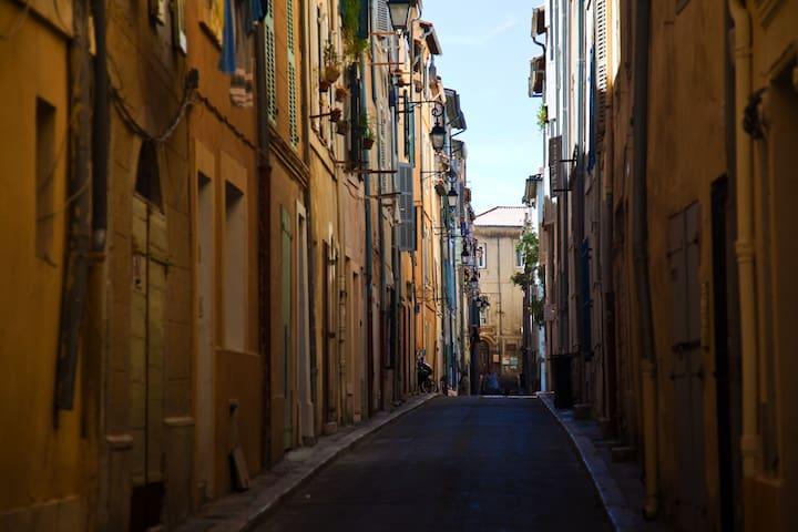 Studio confortable au cœur du Panier - Marselha - Apartamento