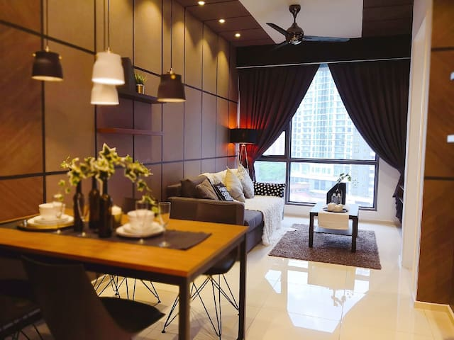 5Stars Suite. 5minWalk>BukitBintang,KLCC,Pavillion