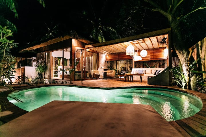 One bedroom villa with private swimming pool
