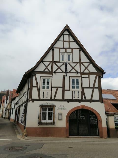 Liebevoll eingerichtes Apartment in der Pfalz