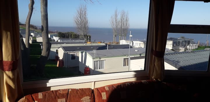 Amazing Sea View - 3 Bedroom Caravan (6 Guests)