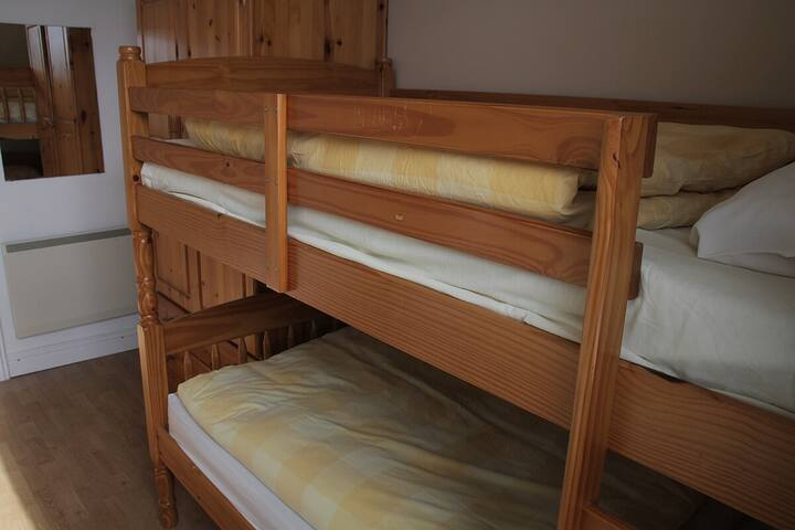Bunk beds includes 2 single beds