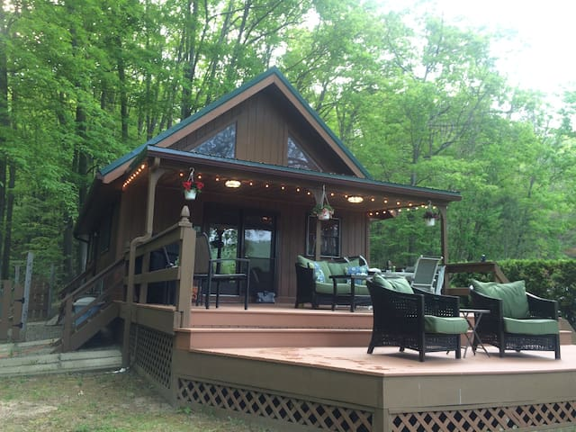 Keuka Lake Chalet - Pulteney - บ้าน