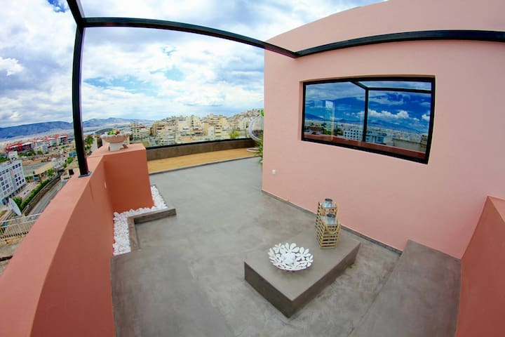 20m² Magical loft with Athens view - Πειραιάς Athens central - Apartmen