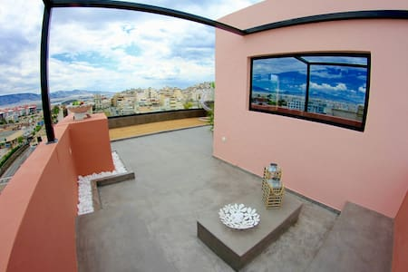 20m² Magical loft with Athens view - Πειραιάς Athens central - Leilighet