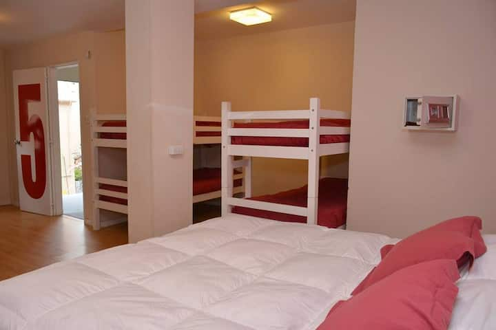 habitación para 10 ,Posada las Barrancas