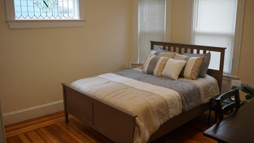 Master Bedroom on Somerville/Cambridge line