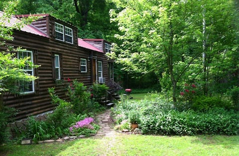 Sunnybrook Cabin, wooded, private with stream