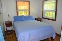 Downstairs, main bedroom