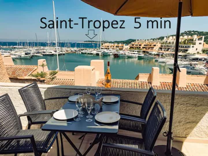 Luxe Penthouse Les Pieds dans l'Eau Saint-Tropez 4