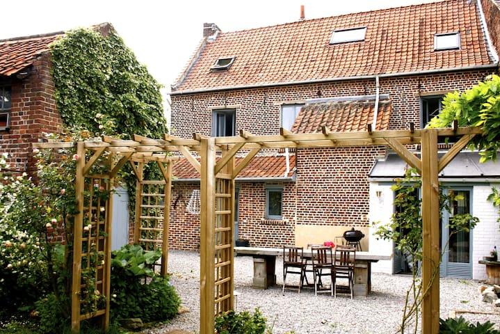 Chambre(s) dans maison de charme proche de Lille - Houplin-Ancoisne - Dom