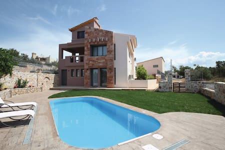 New vacation villa,garden,swimming pool,great view - Kitsi - Villa