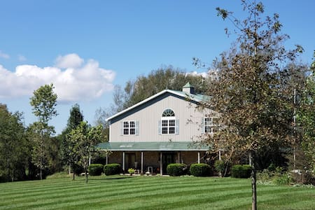 2 bdrms in our barn home 16acres - Louisville 23mi
