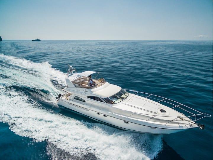 Rent Luxury 60 Feet in Amalfi Coast&Isle of Capri