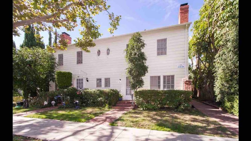 French Revival Townhome steps from Rodeo Drive