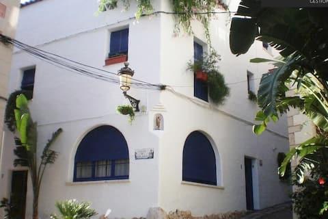 La Casita  (centro histórico /  1 minuto de playa)