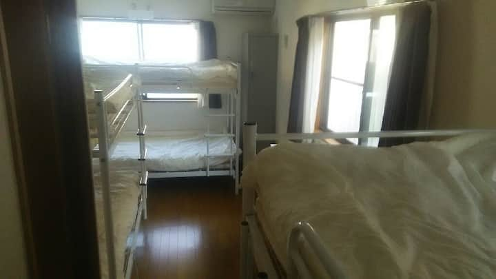 6 beds mix dormitory 1st