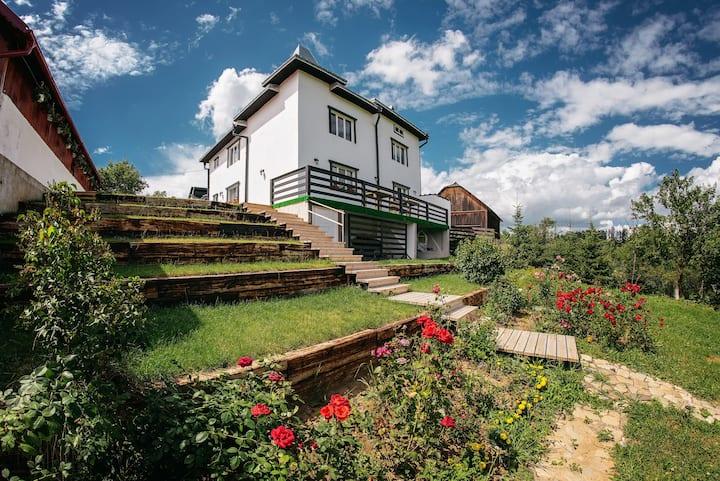 Casa din Bucovina Paltinoasa