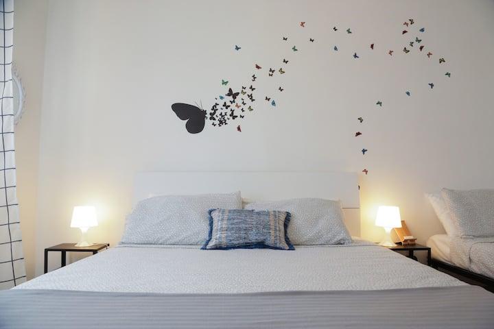 Stanza privata con bagno Domus Anagnina Apartment2