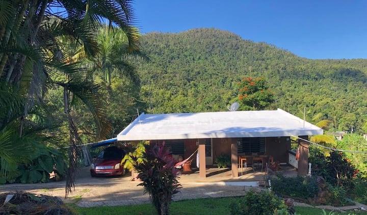 Casa con piscina en el Yunque
