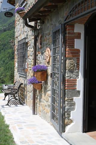 Romantiske Toscana med Swimmingpool og klatrebane