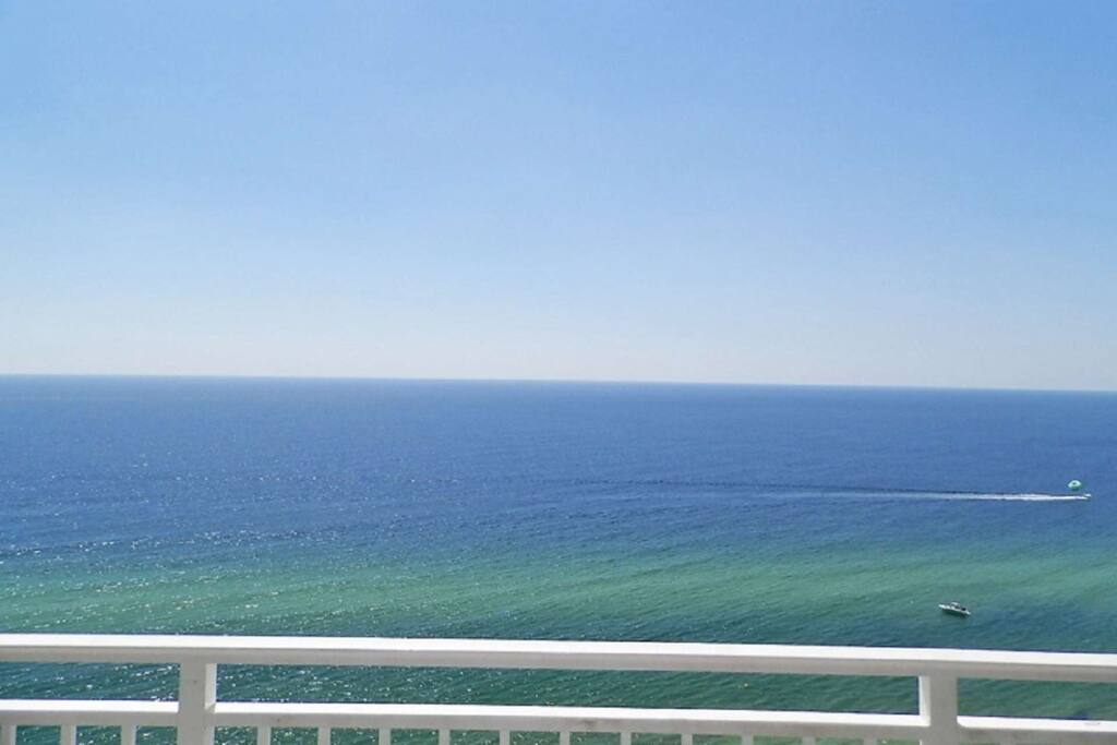 Beautiful Views from our spacious balcony.