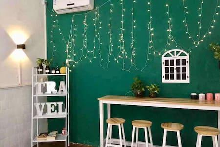 【Chez J 】十嘉家∣星湖·岩前村∣地中海风的独享公寓|市中心可煮饭
