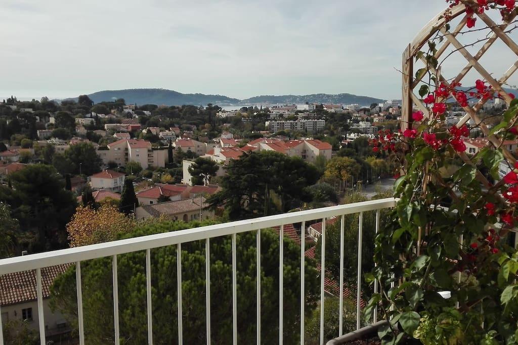 Vue du balcon sud