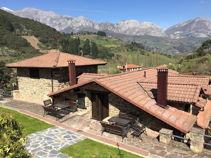 La Fragua Casa Rural 6/8 pax Potes-Picos de Europa