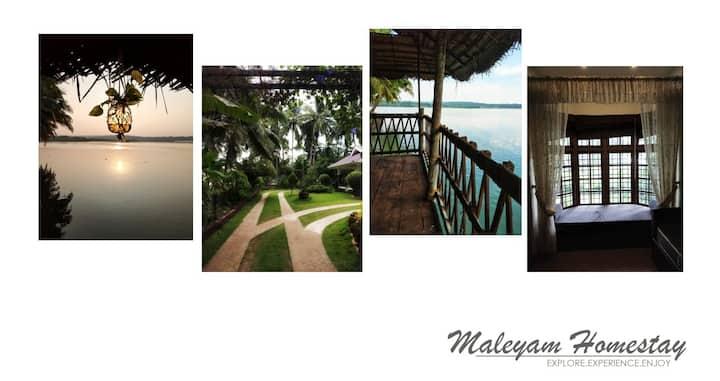 Maleyam Homestay riverside
