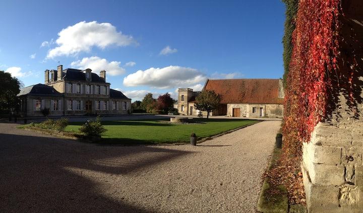 La vie de château à 100km de Paris, 15 personnes