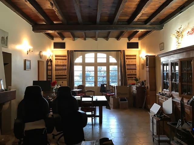 Grande maison Landaise trés calme - Labatut - Casa
