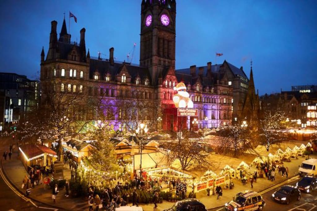 Come and join in the festive fun in Manchester