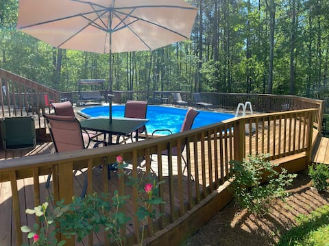 Private home in Lawrenceville / Hot tub / pool /
