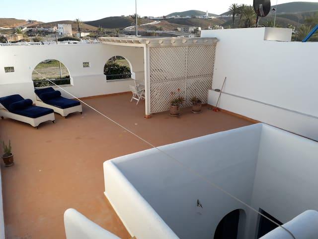 Maison à la plage.