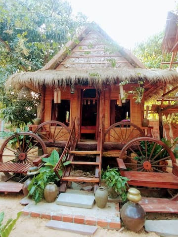 Amazing Real khmer Homestay - Airport free pick up