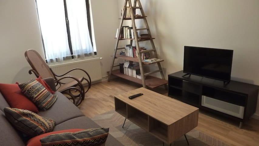 Appartement vintage, rando et relaxation