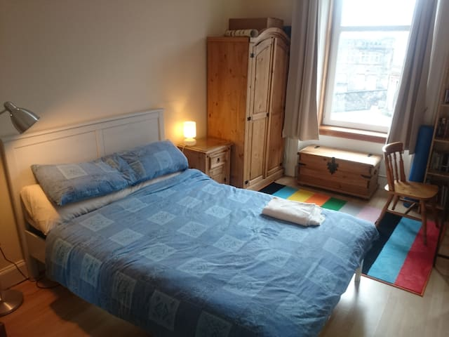 Double room in a traditional flat