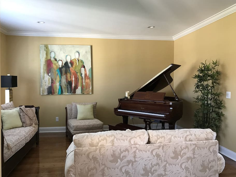 piano available for use