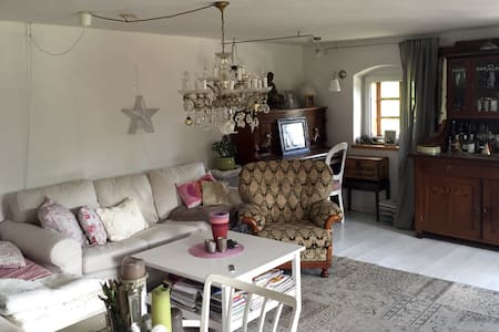 Gemütliche Wohnung im Gartenparadis - Großtraberg - Casa
