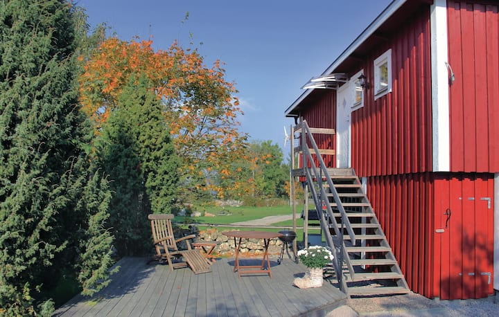 Amazing home in Tjurkö with 1 Bedrooms