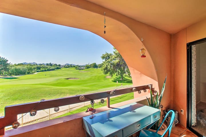 NEW! Modern Resort Condo w/ Pool Access+Golf Views